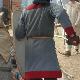 Gambison en cuir, autorisé mais doit être dissimulé